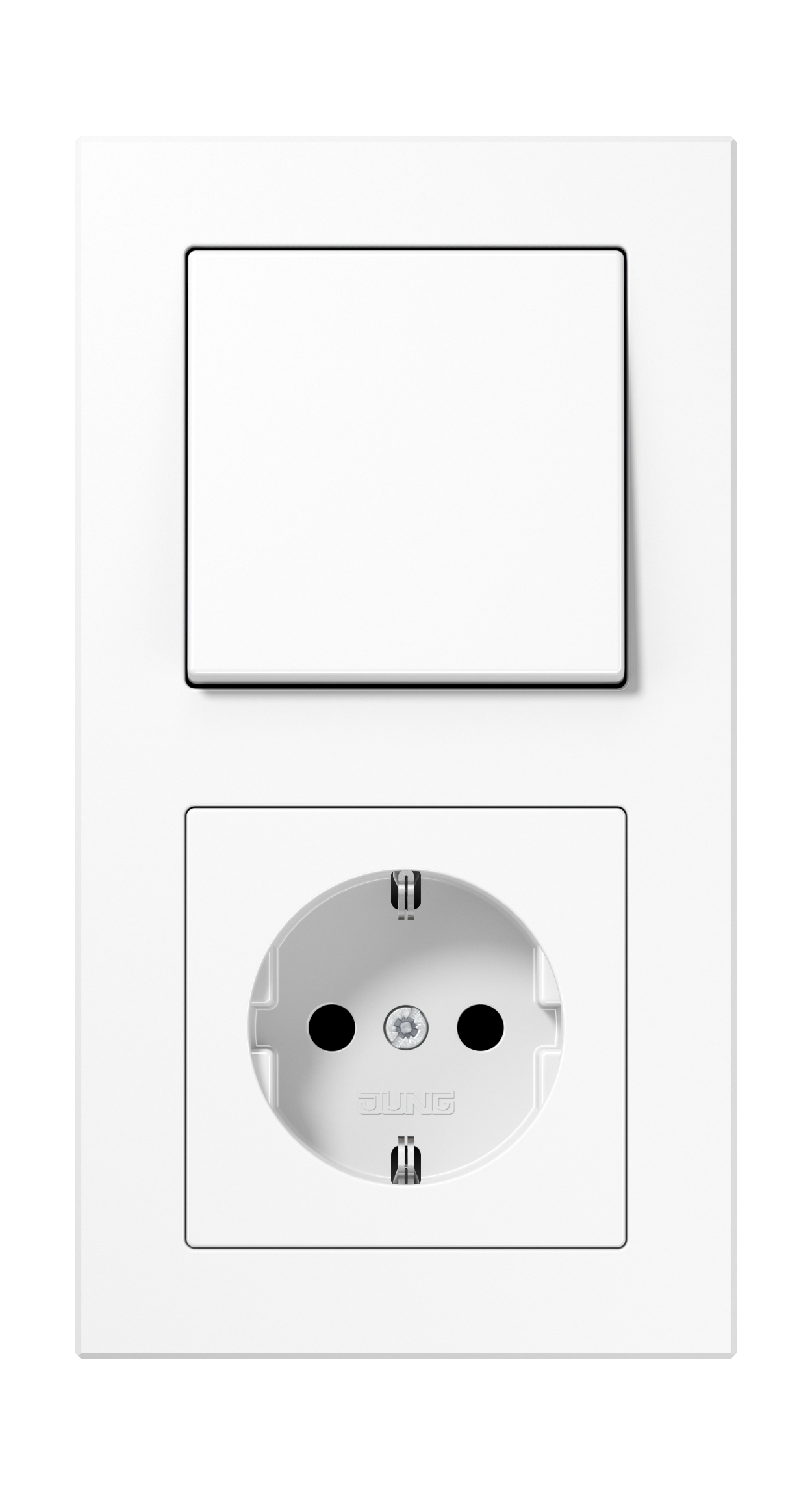 JUNG_AC_white_switch-socket