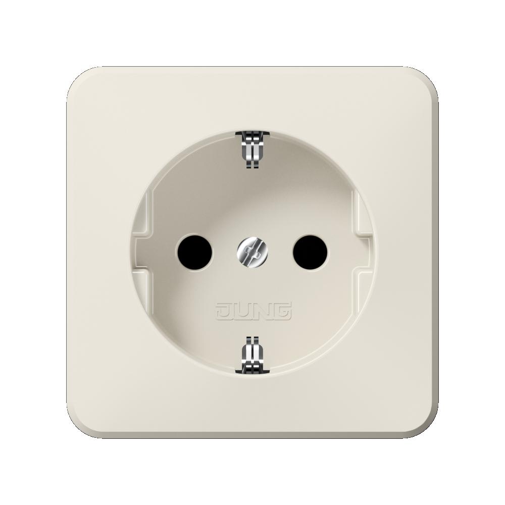 JUNG_AP600_ivory_socket