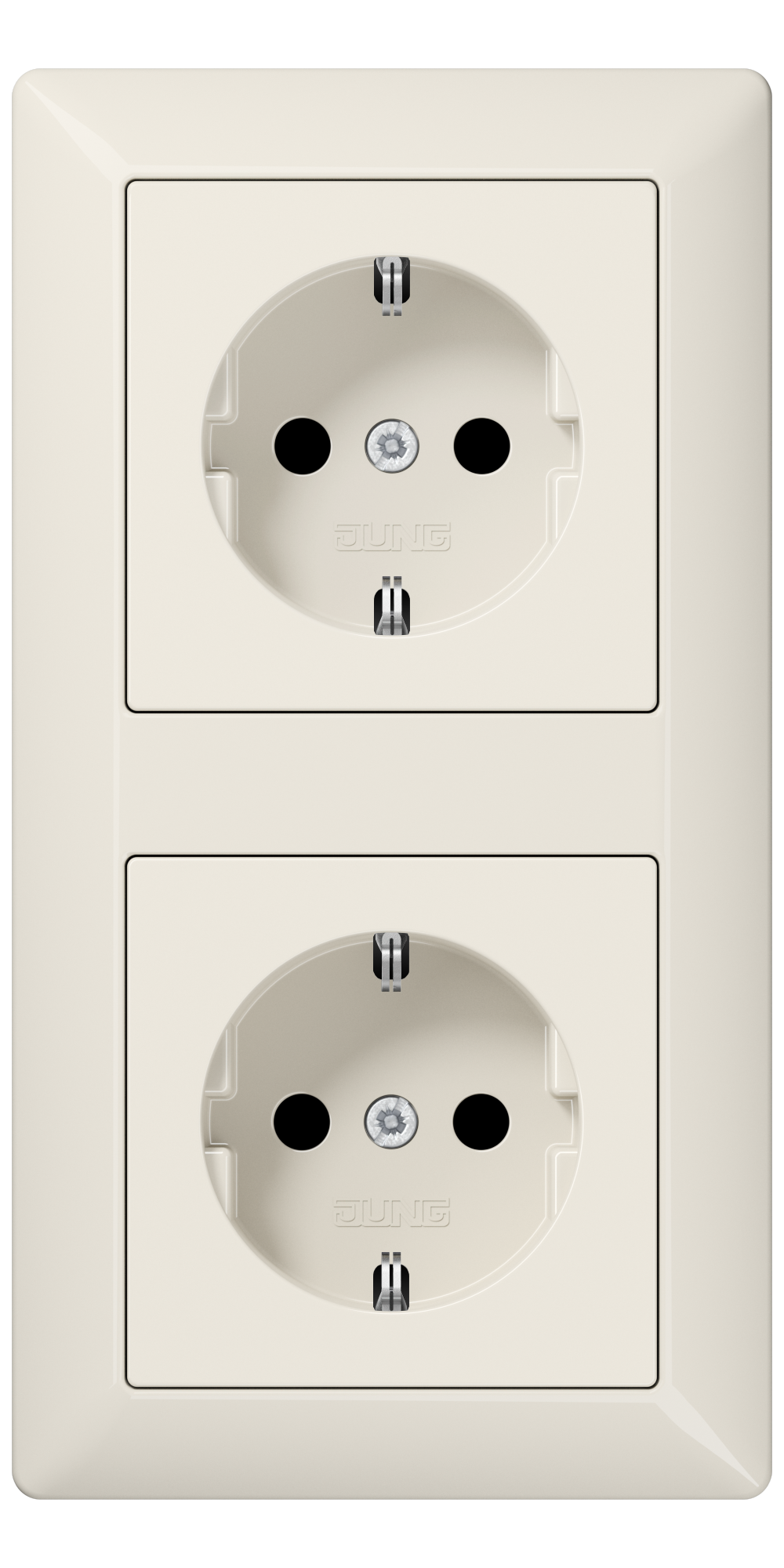 JUNG_AS500_ivory_socket-socket