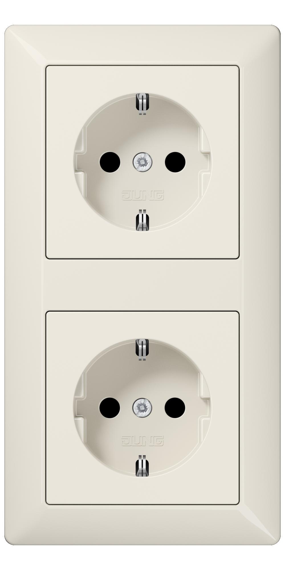 JUNG_AS500_ivory_socket-socket