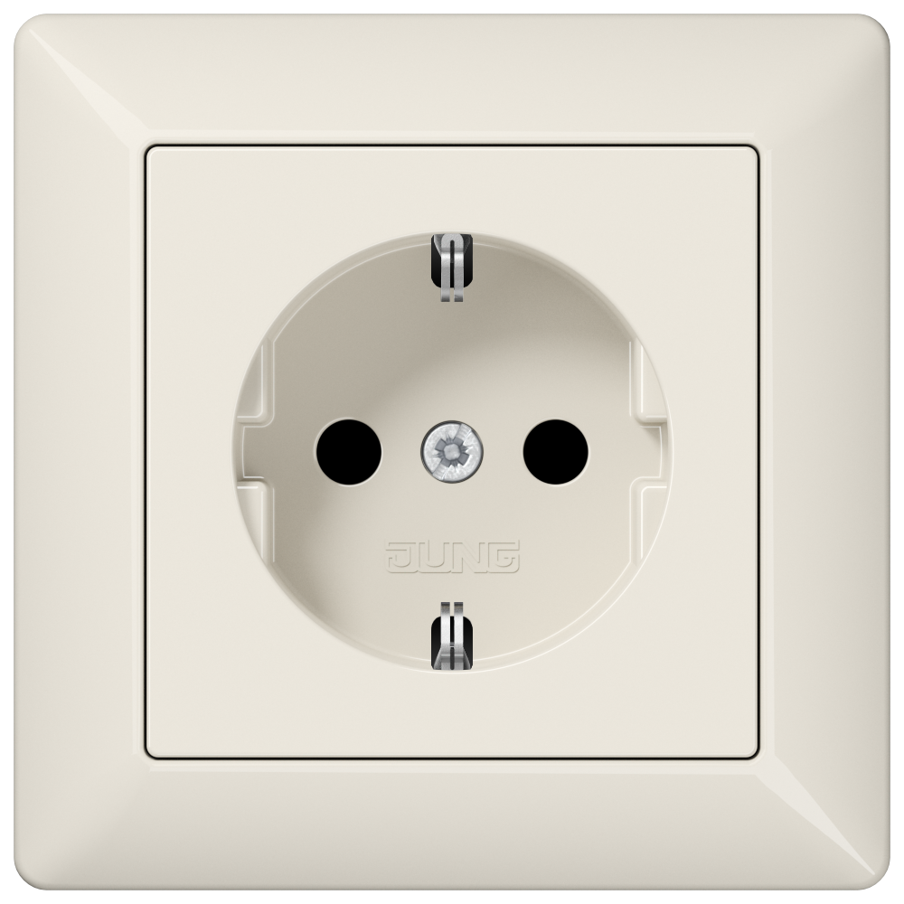 JUNG_AS500_ivory_socket