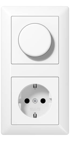 JUNG_AS500_white_dimmer-socket