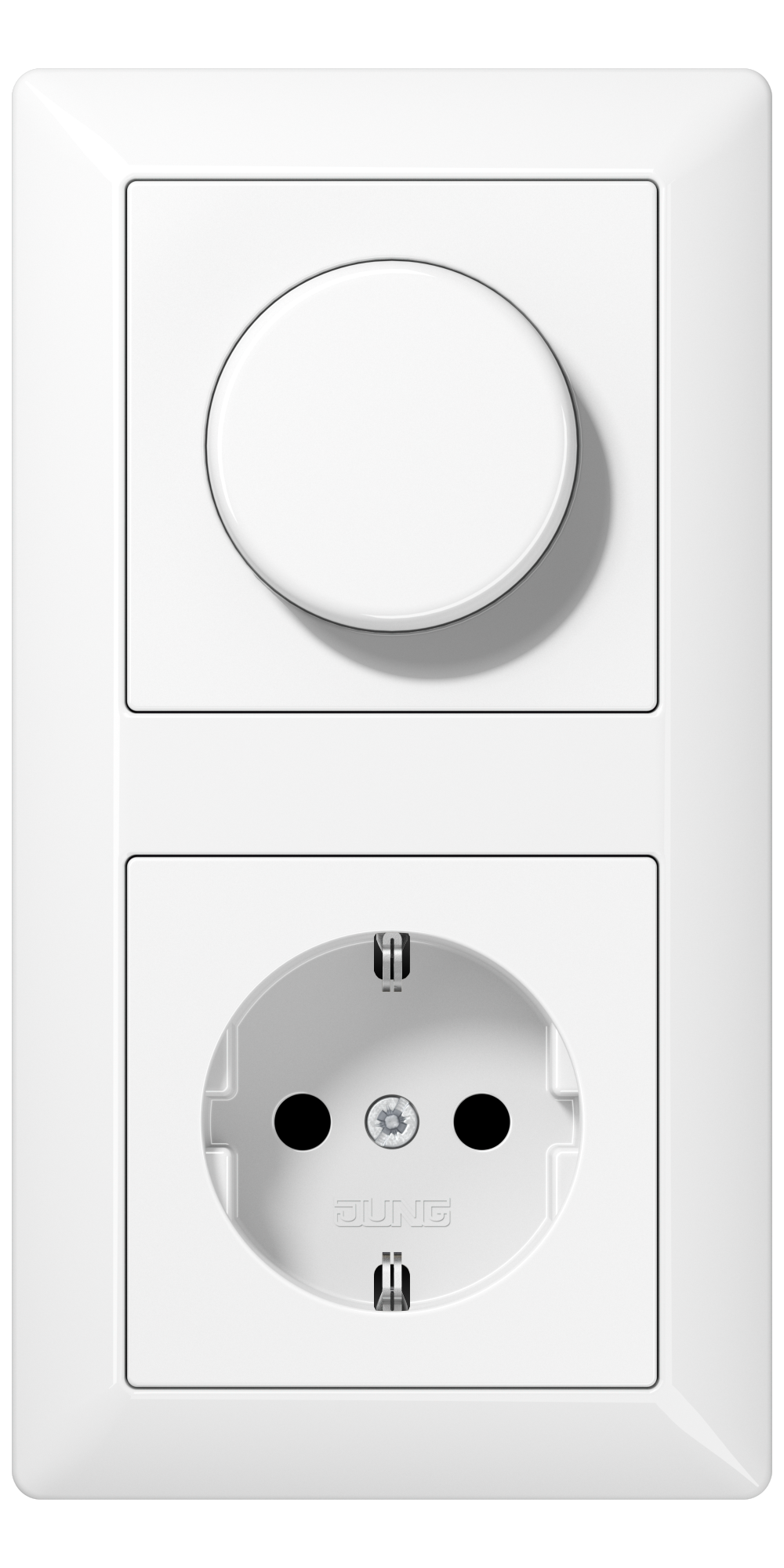 JUNG_AS500_white_dimmer-socket