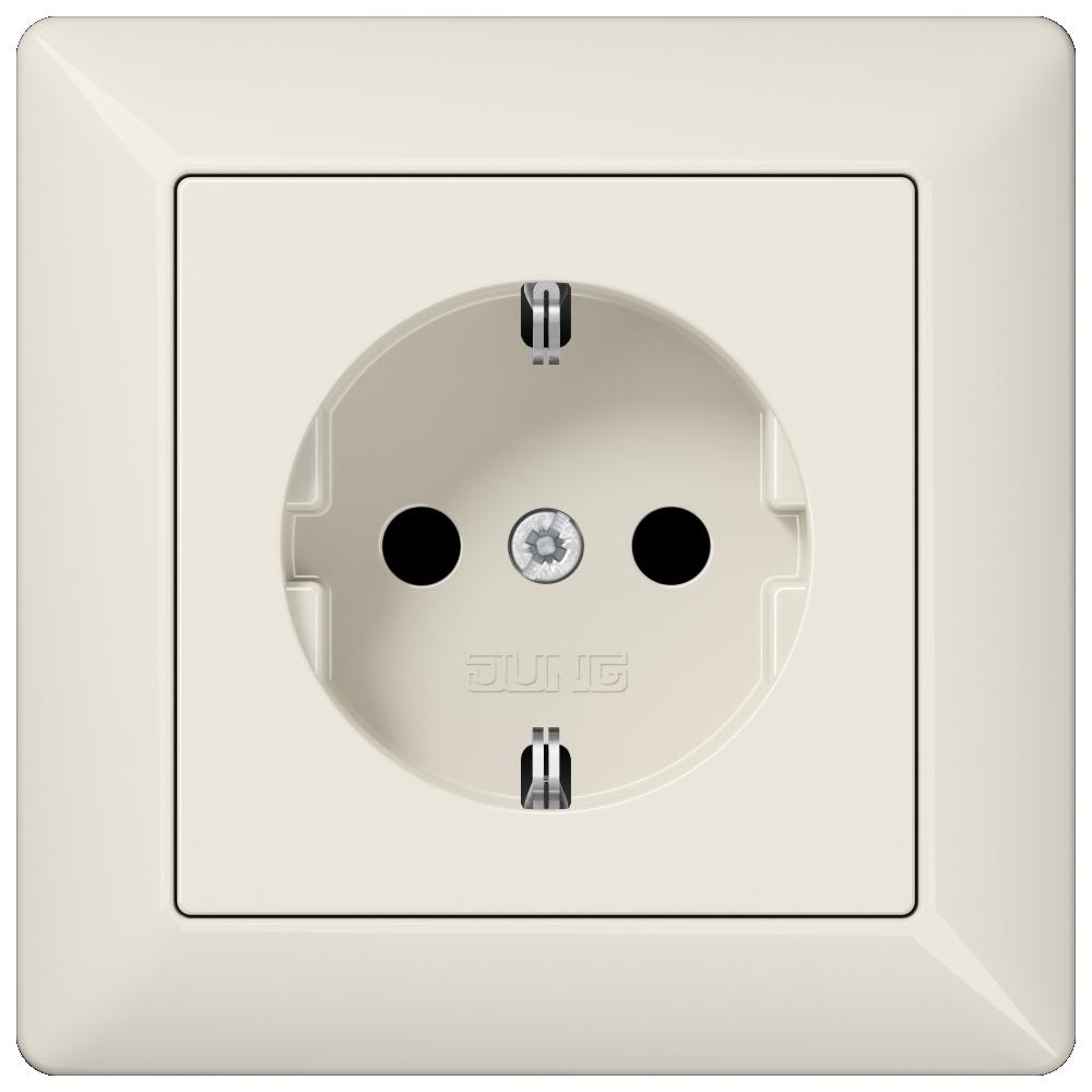 JUNG_AS500_breakproof_ivory_socket