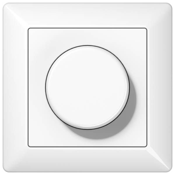 JUNG_AS500_breakproof_white_dimmer