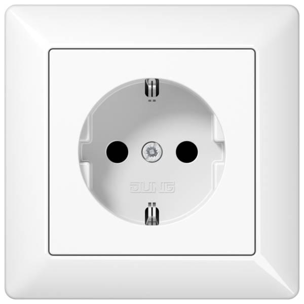 JUNG_AS500_breakproof_white_socket