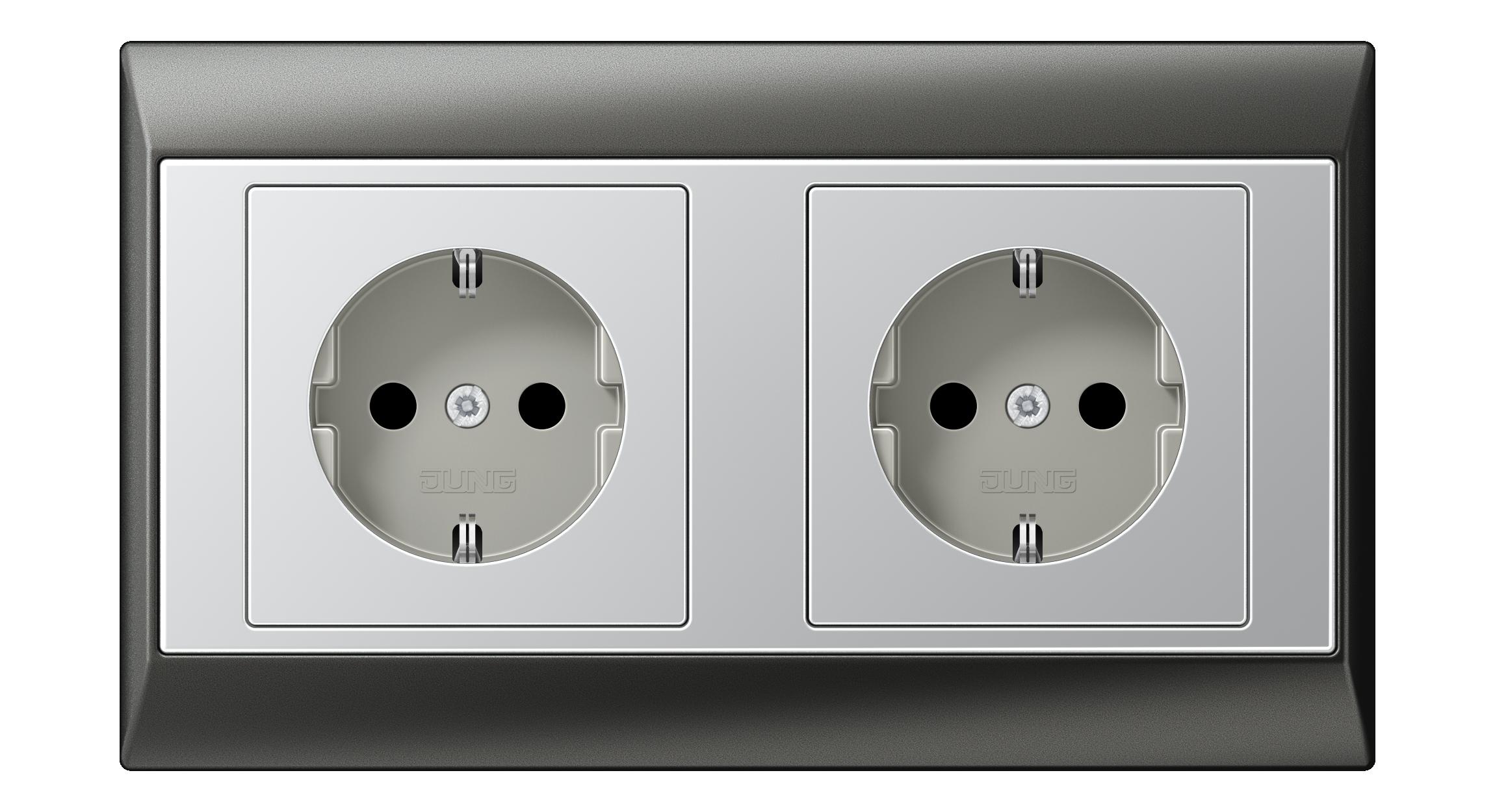 JUNG_Aplus_anthracite_aluminium_socket-socket_H
