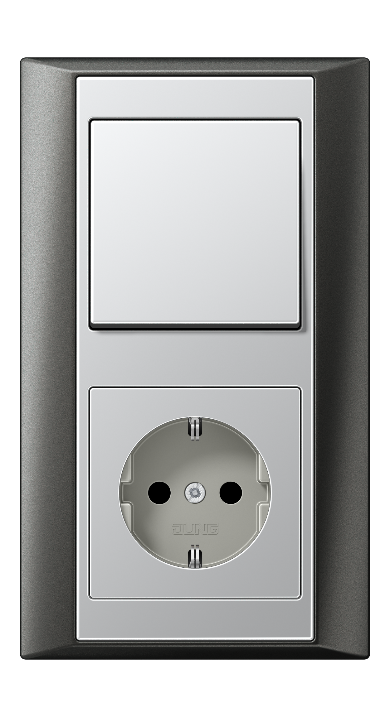 JUNG_Aplus_anthracite_aluminium_switch-socket