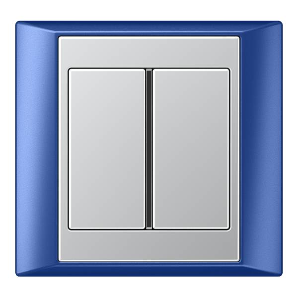 JUNG_Aplus_blue_aluminium_1button