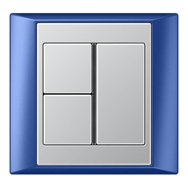 JUNG_Aplus_blue_aluminium_3button