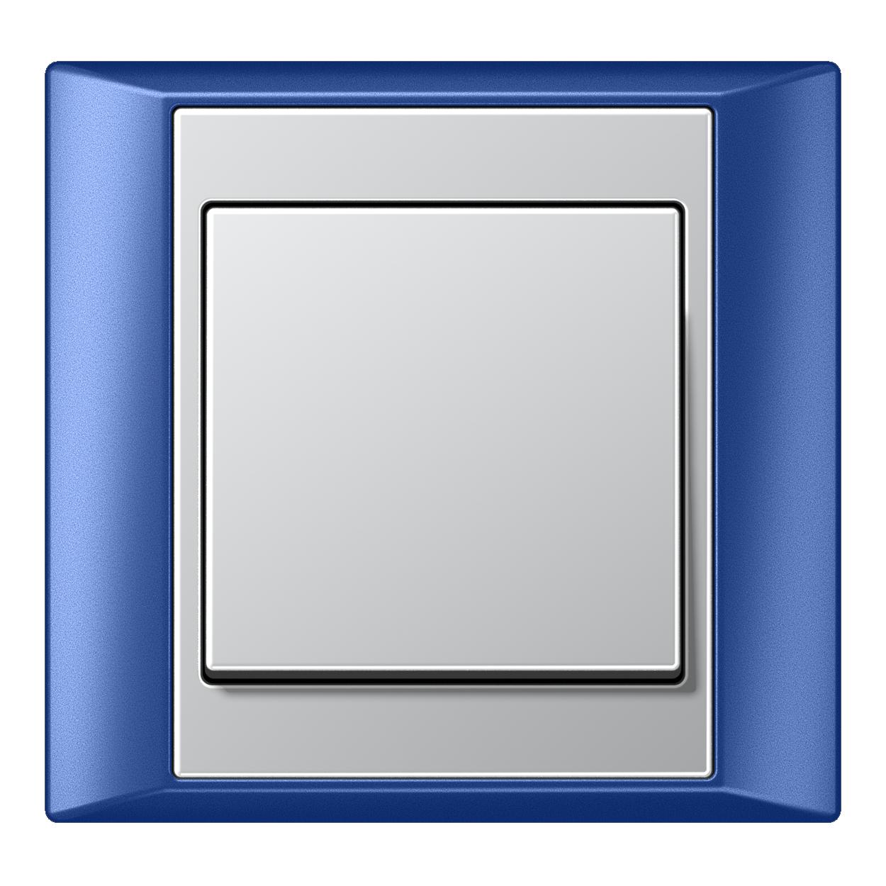JUNG_Aplus_blue_aluminium_switch