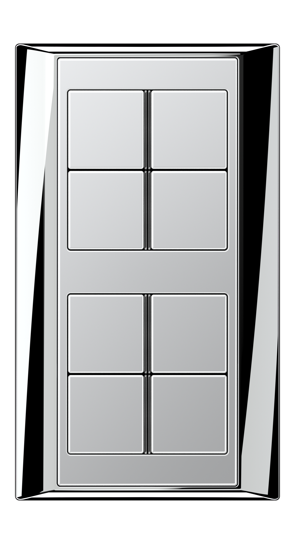 JUNG_Aplus_chrome_aluminium_8button