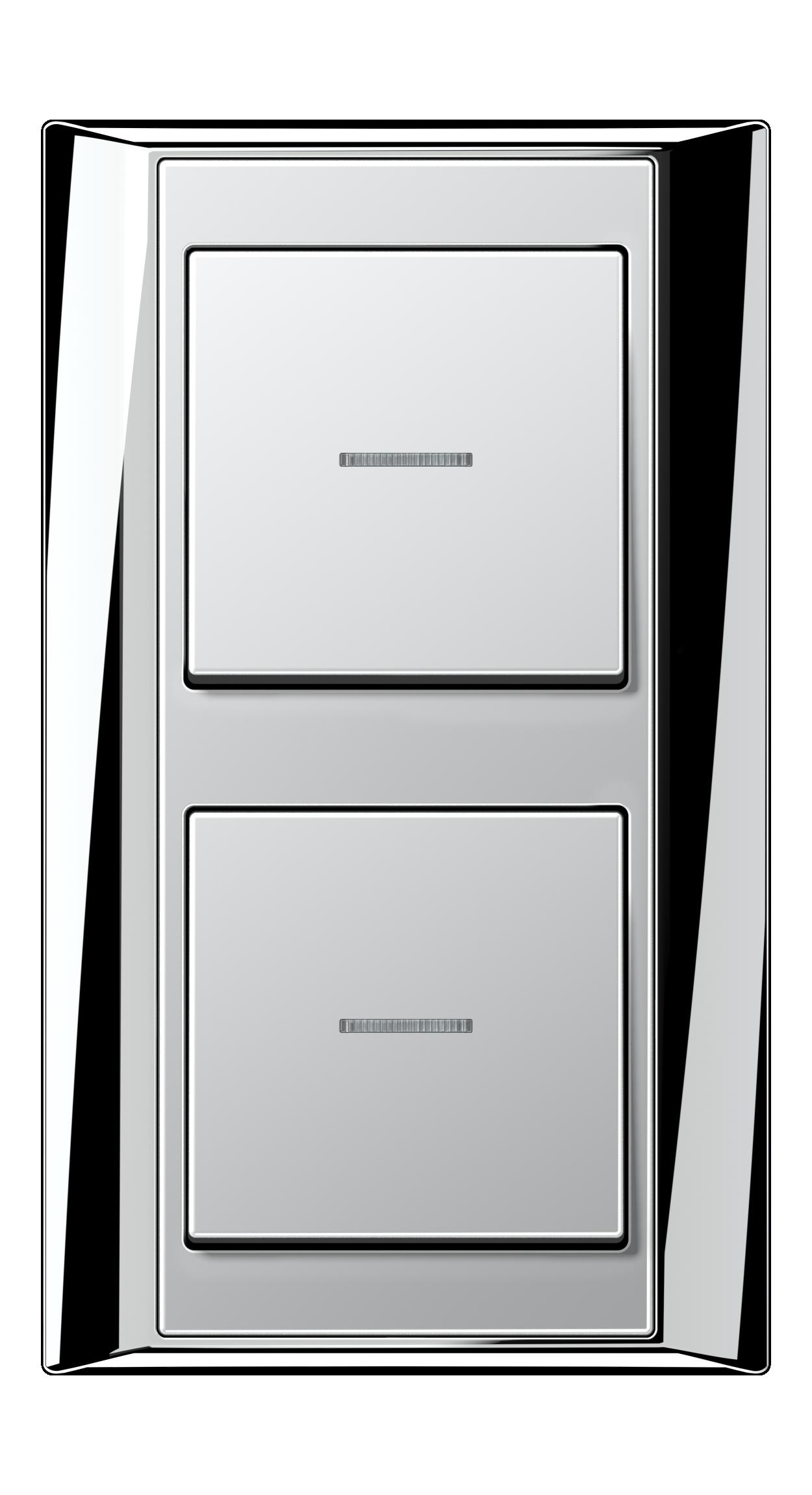 JUNG_Aplus_chrome_aluminium_switch-lense_switch-lense