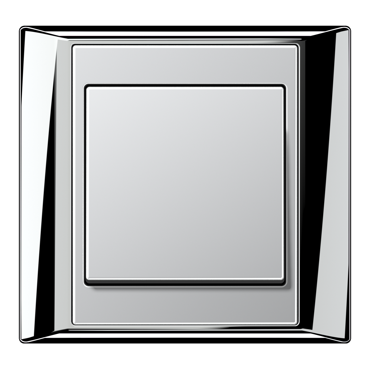 JUNG_Aplus_chrome_aluminium_switch