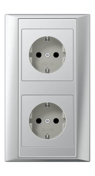 JUNG_Aplus_aluminium_aluminium_socket-socket