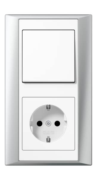 JUNG_Aplus_aluminium_white_switch-socket