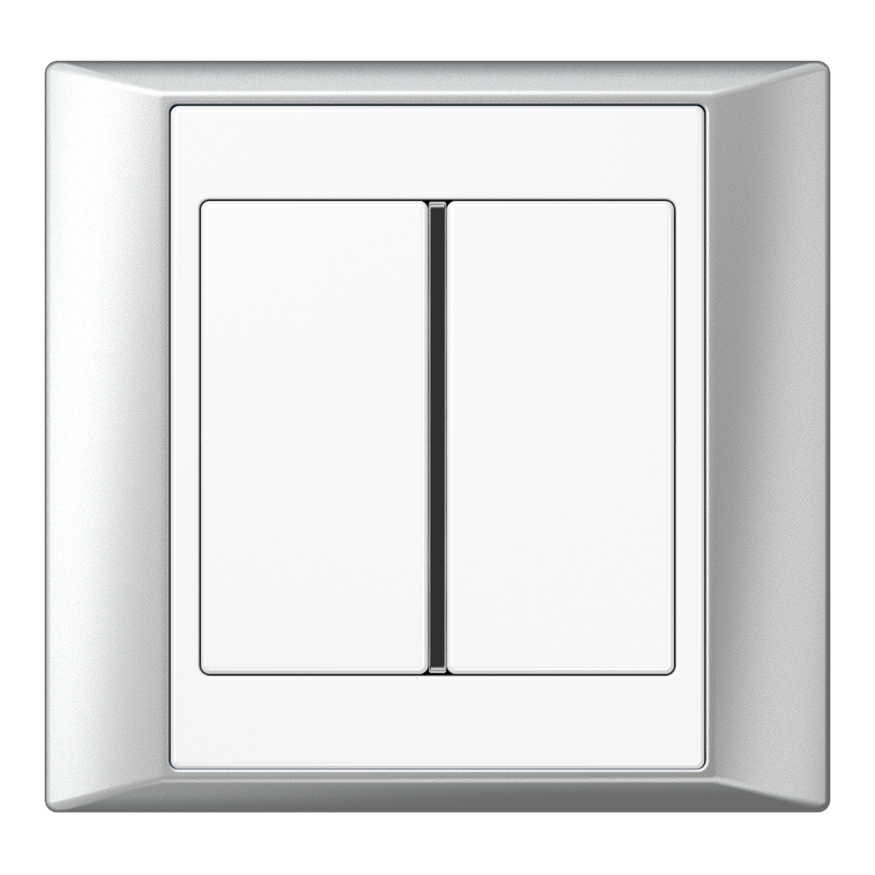 JUNG_Aplus_aluminium_white_1button