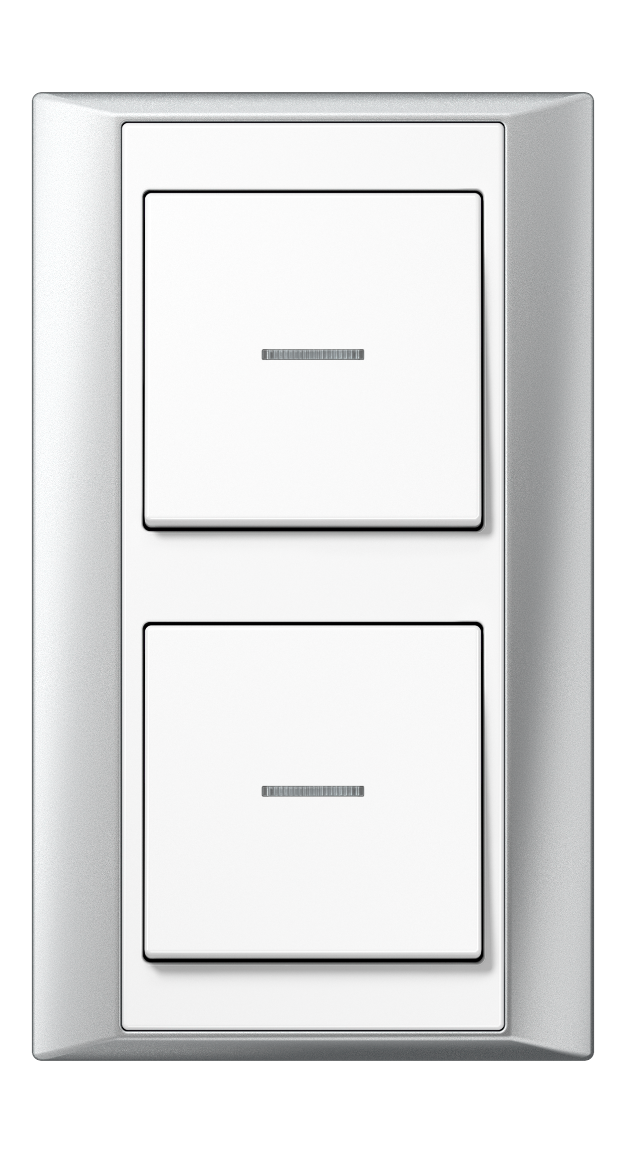 JUNG_Aplus_aluminium_white_switch-lense_switch-lense
