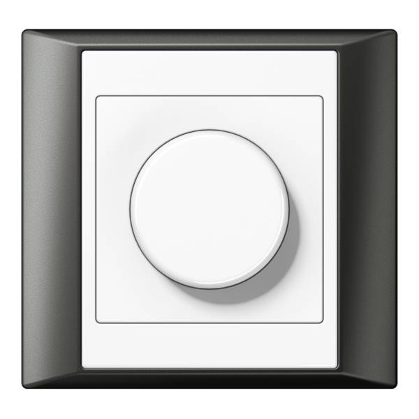 JUNG_Aplus_anthracite_white_dimmer
