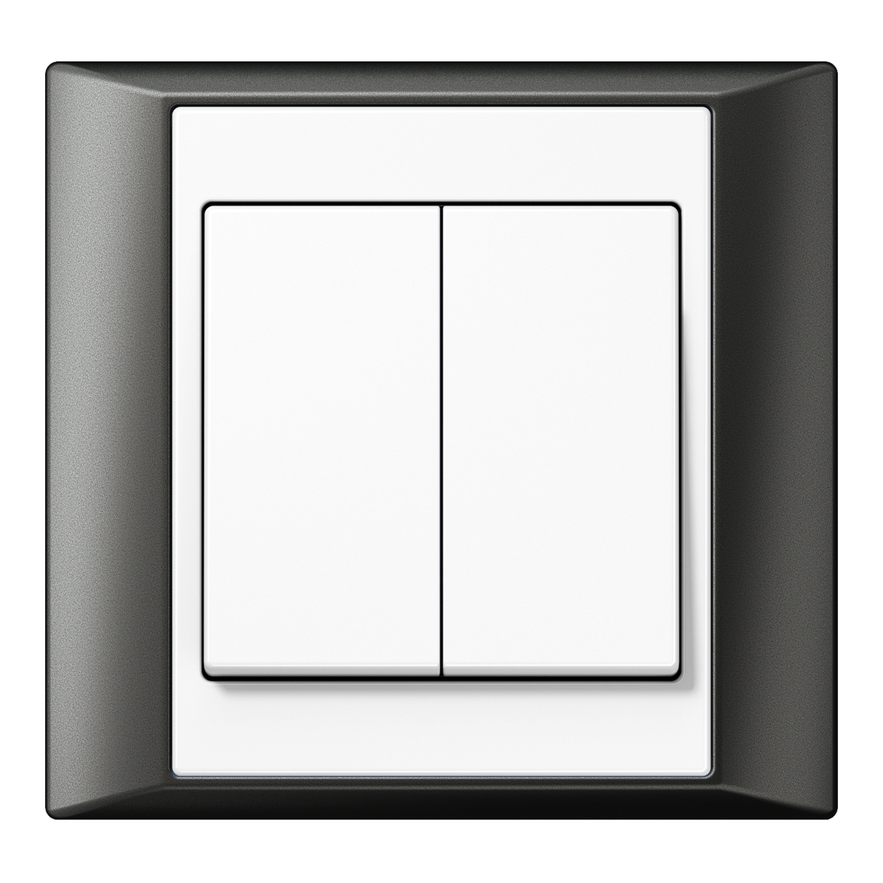 JUNG_Aplus_anthracite_white_2-gang-switch
