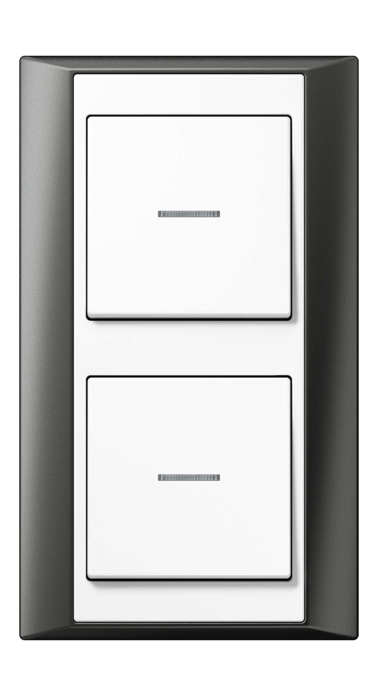 JUNG_Aplus_anthracite_white_switch-lense_switch-lense