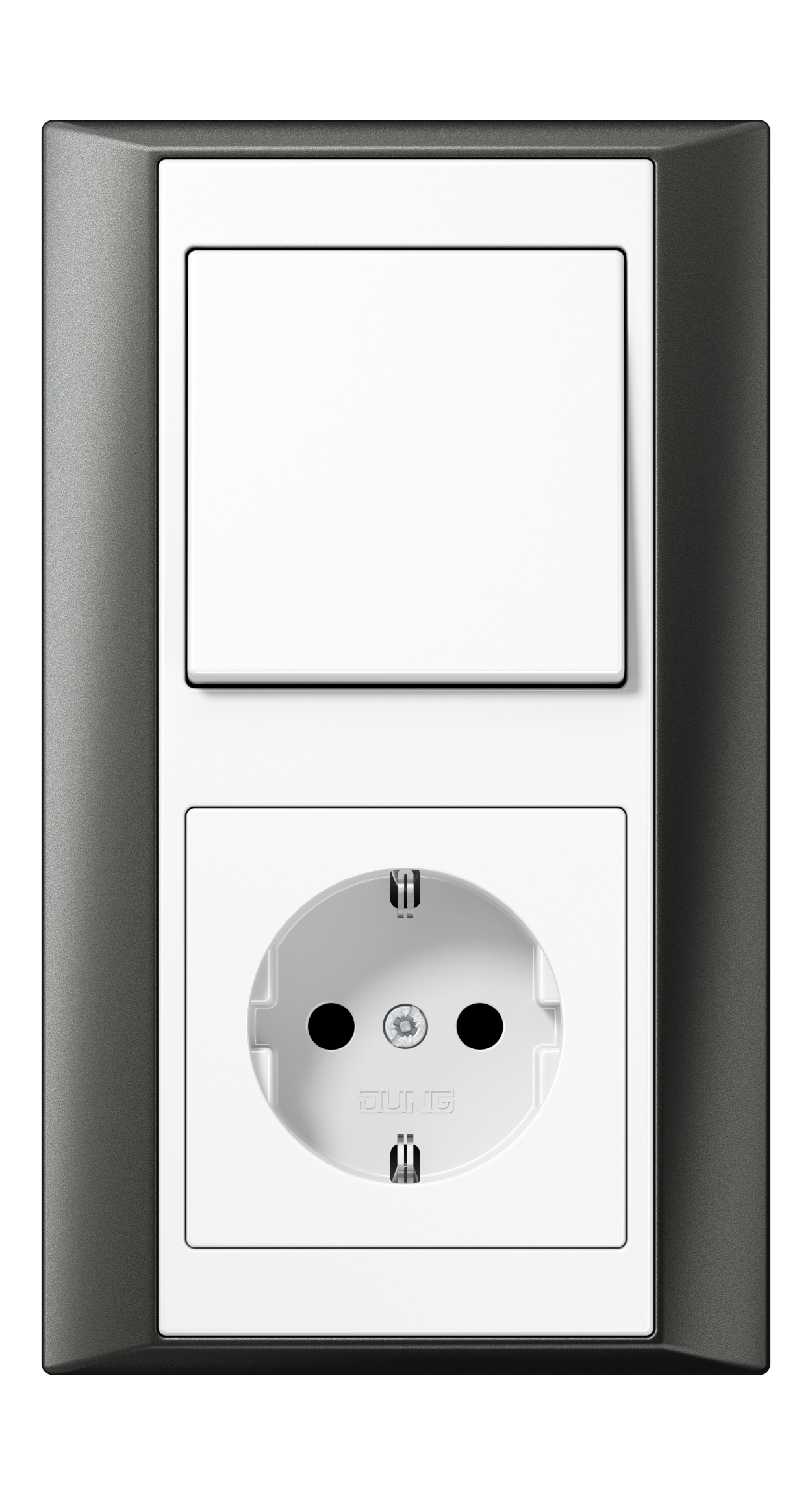 JUNG_Aplus_anthracite_white_switch-socket