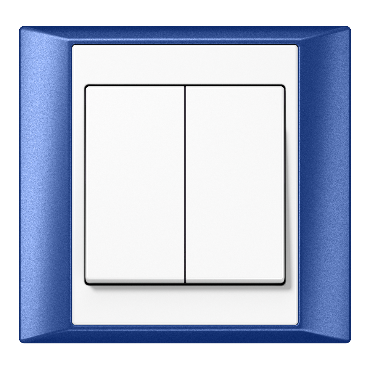 JUNG_Aplus_blue_white_2-gang-switch