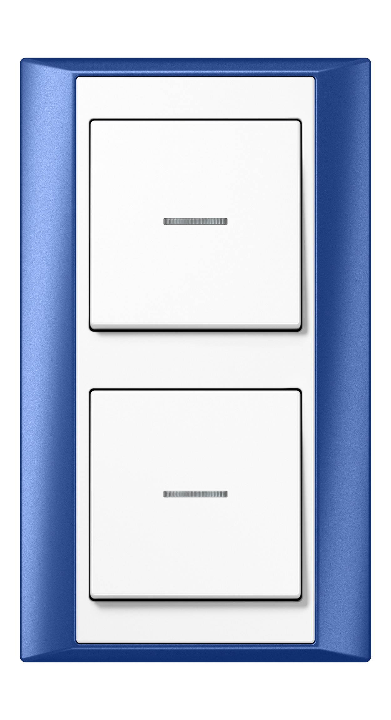 JUNG_Aplus_blue_white_switch-lense_switch-lense