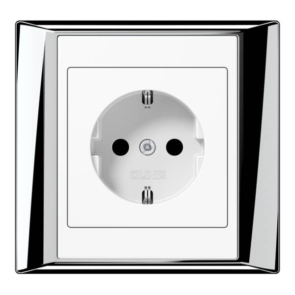 JUNG_APlus_chrome_white_socket