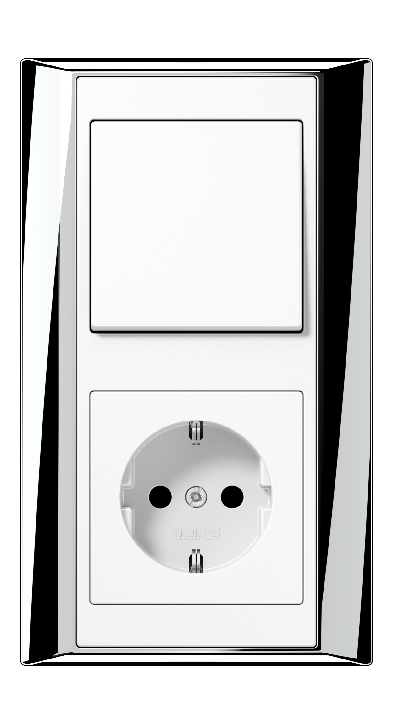 JUNG_APlus_chrome_white_switch-socket