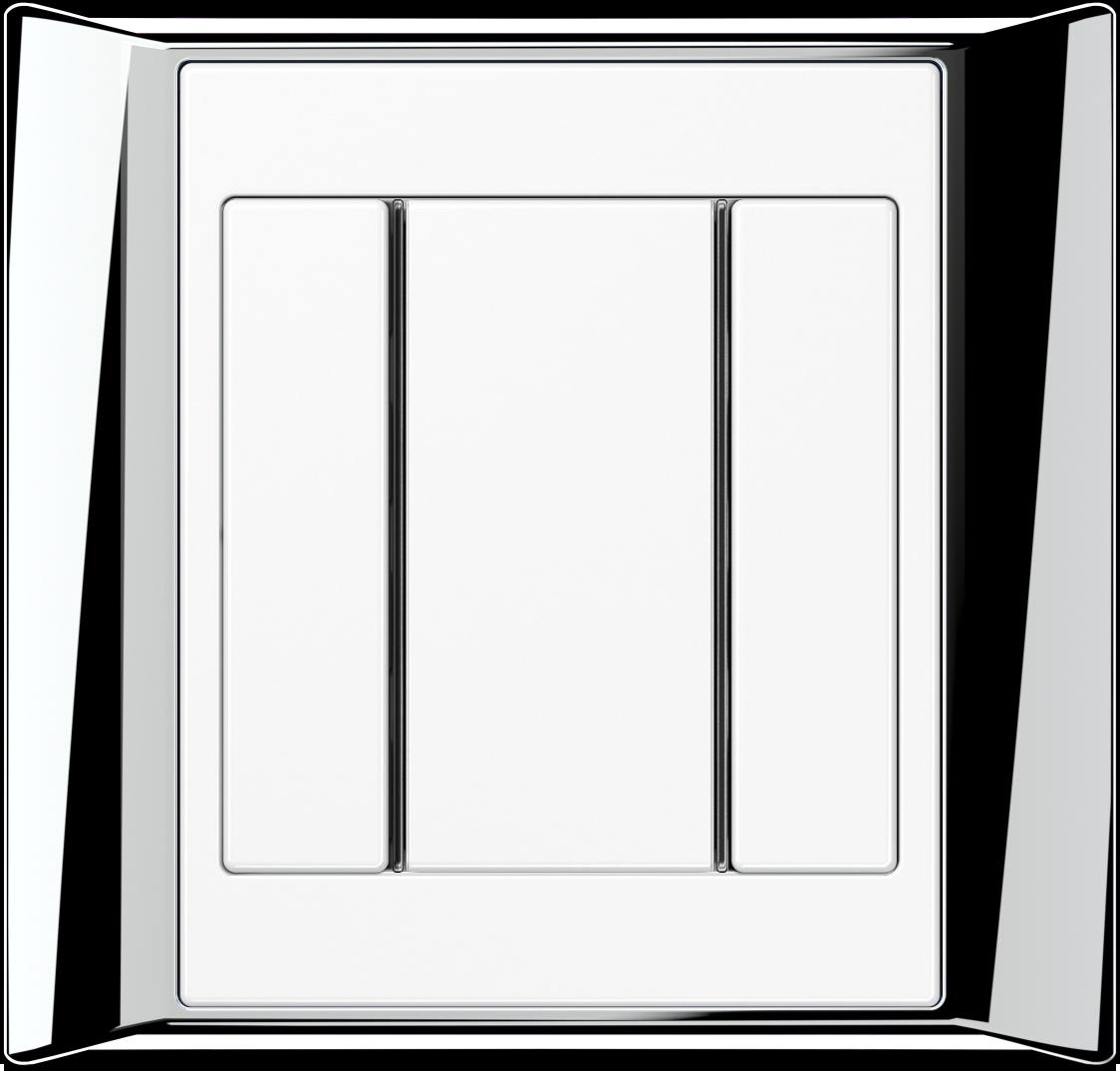 JUNG_Aplus_chrome_white_coloured_F50_1-gang