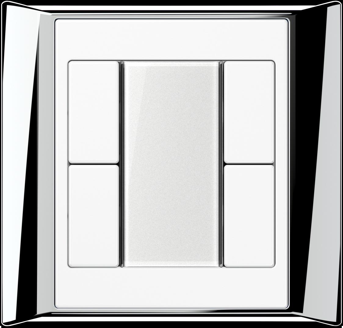 JUNG_Aplus_chrome_white_transparent_F50_2-gang