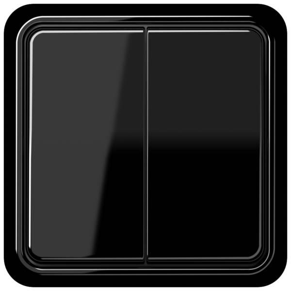 JUNG_CD500_black_2-gang-switch