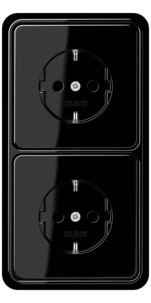 JUNG_CD500_black_socket-socket