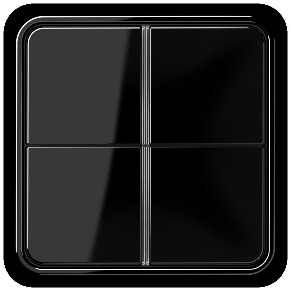 JUNG_CD500_black_4button