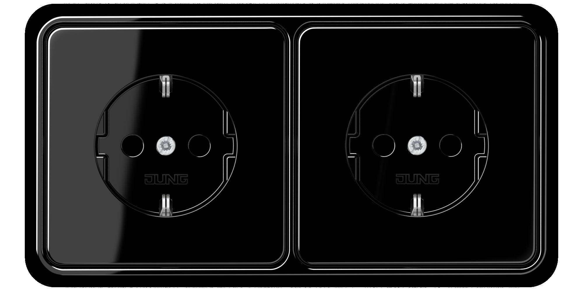 JUNG_CD500_black_socket-socket_H