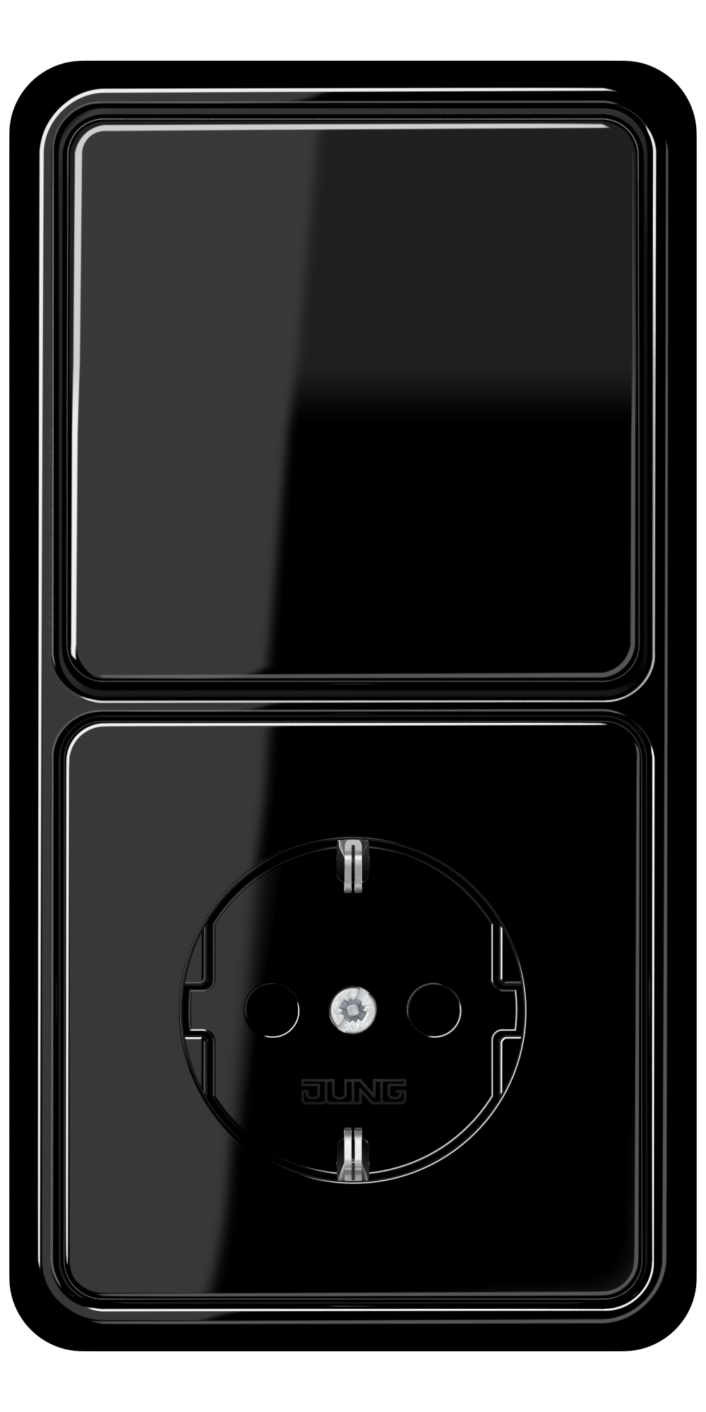JUNG_CD500_black_switch-socket