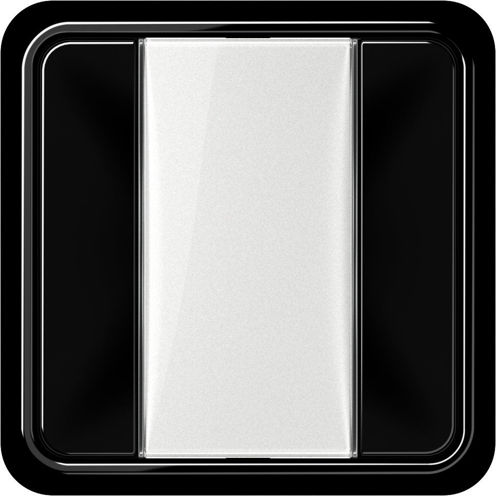 JUNG_CD500_black_transparent_F50_1-gang