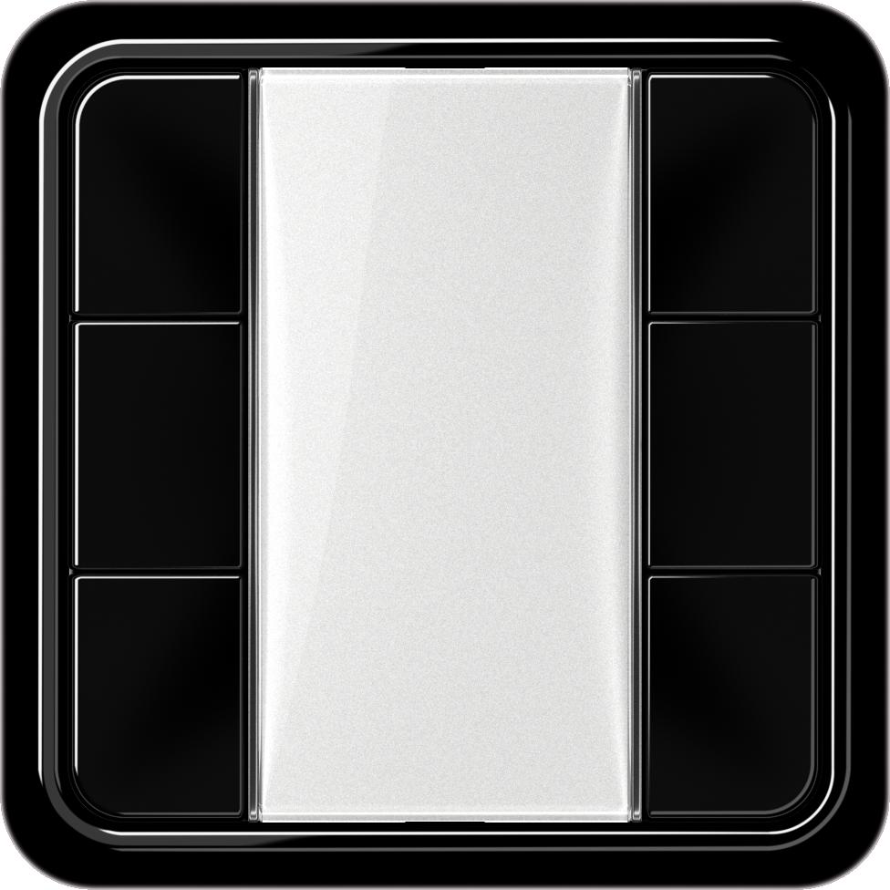 JUNG_CD500_black_transparent_F50_3-gang