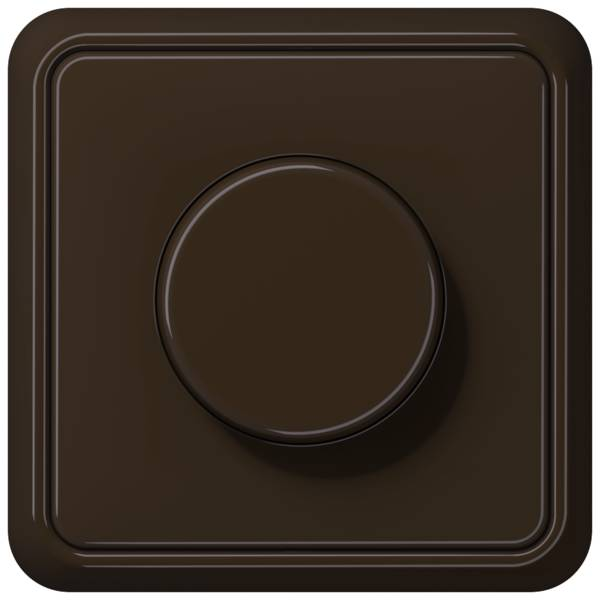 JUNG_CD500_brown_dimmer