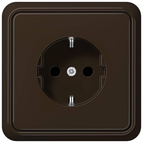 JUNG_CD500_brown_socket