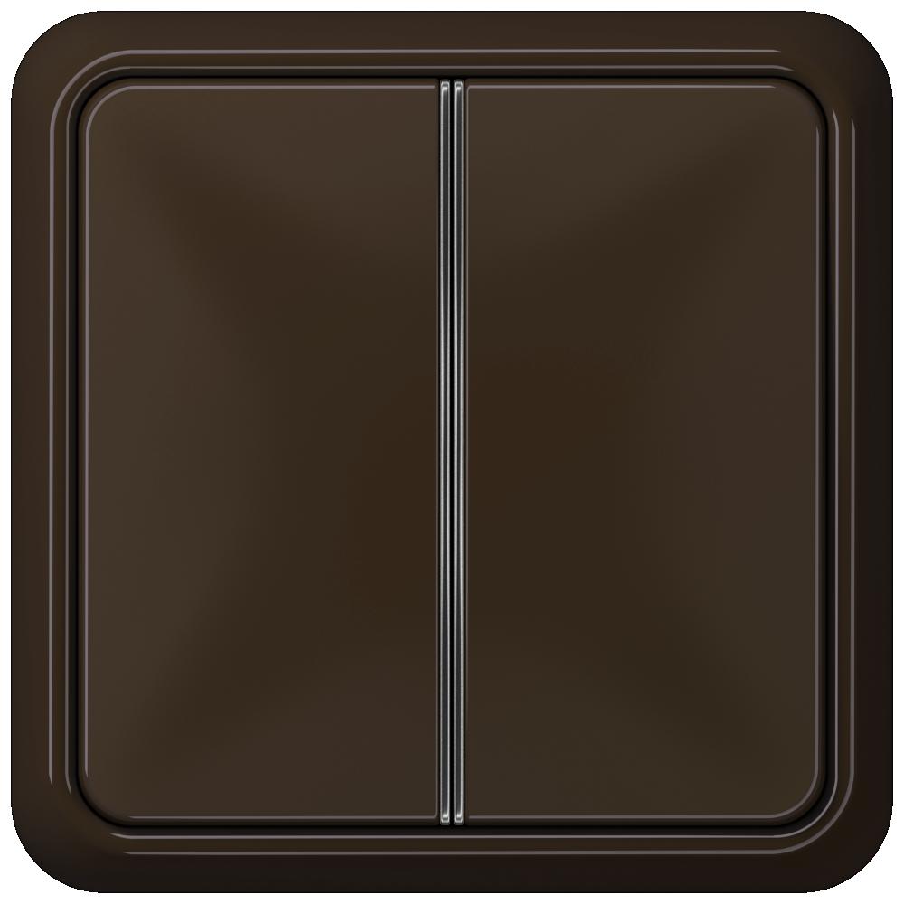 JUNG_CD500_brown_2button