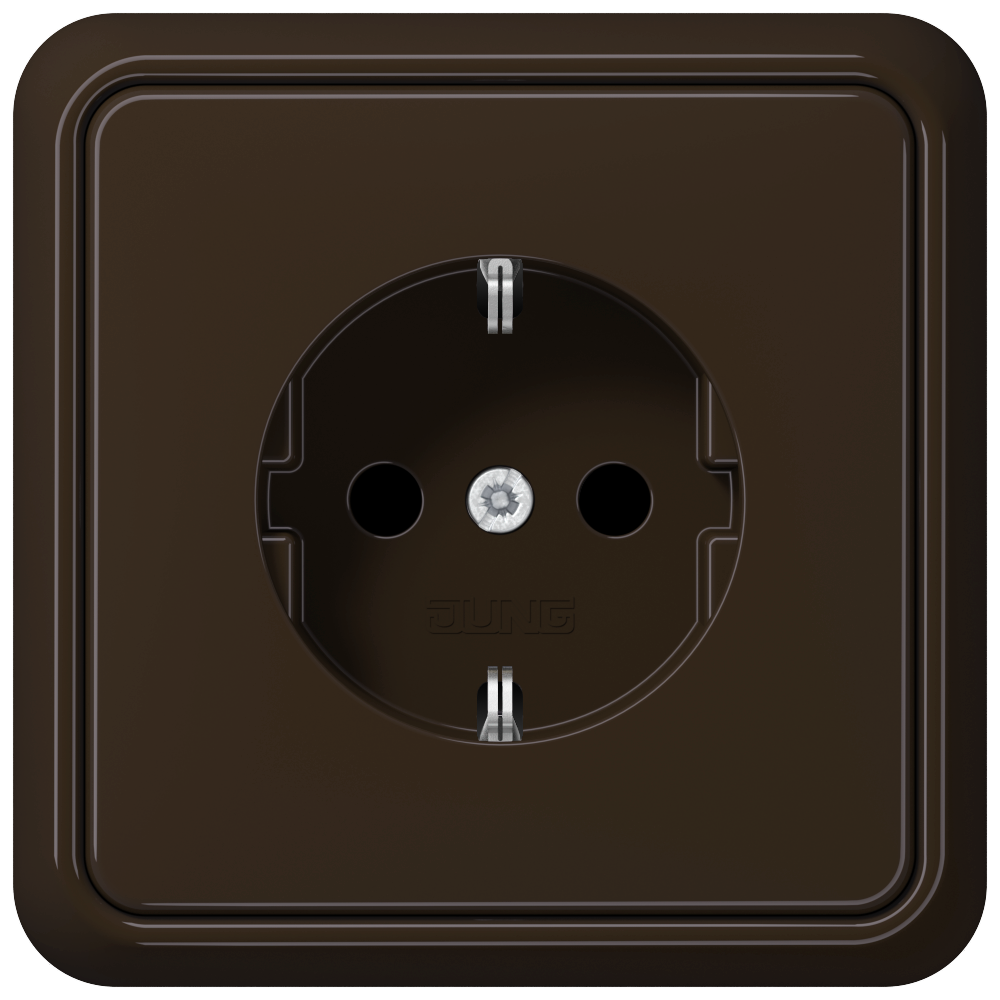 JUNG_CD500_brown_socket