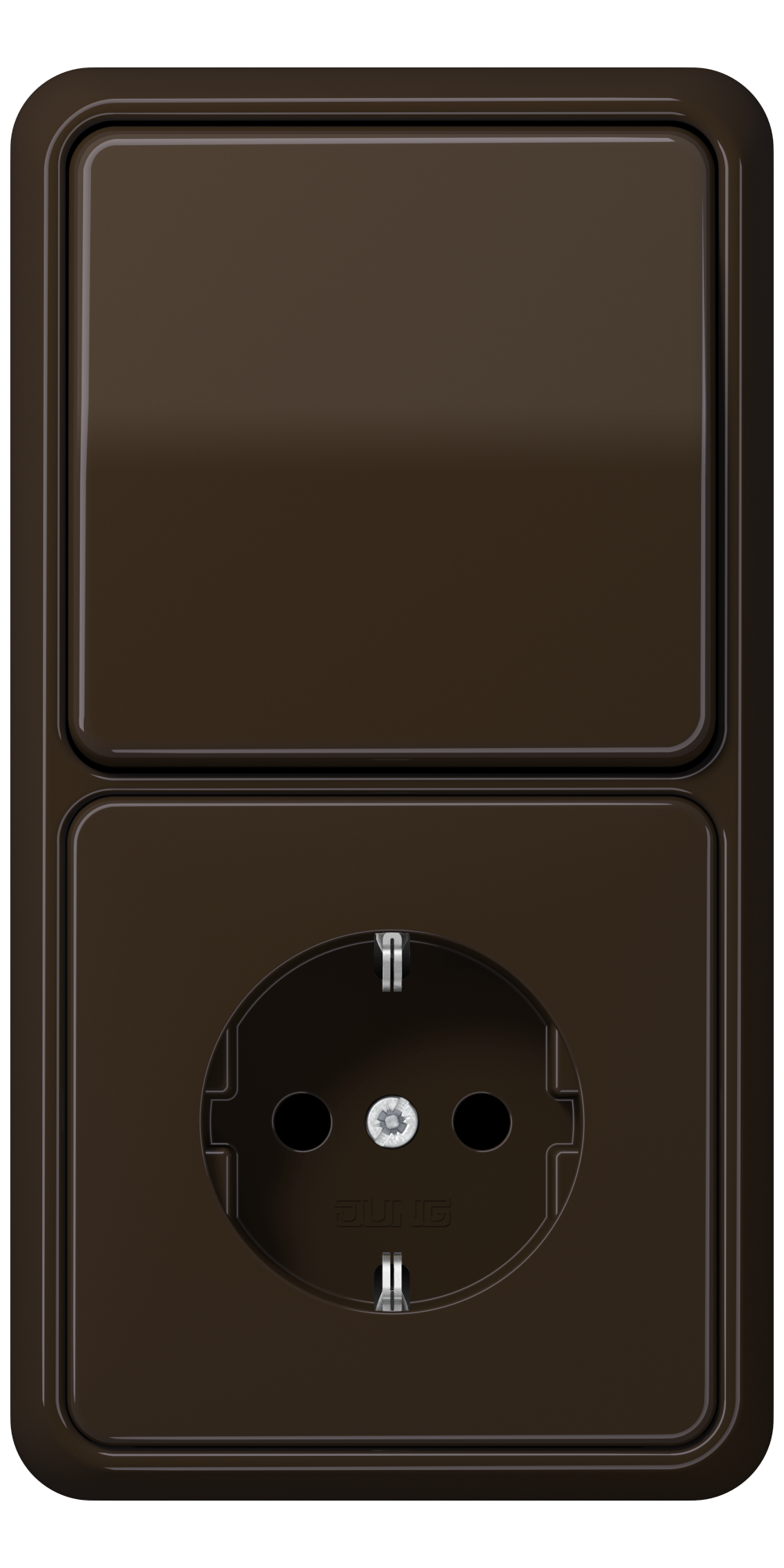 JUNG_CD500_brown_switch-socket