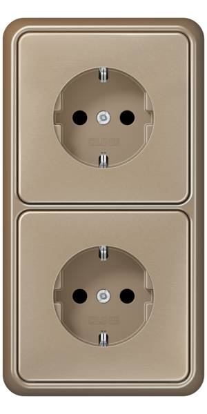 JUNG_CD500_gold-bronze_socket-socket