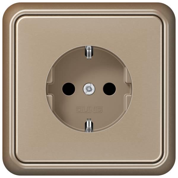 JUNG_CD500_gold-bronze_socket