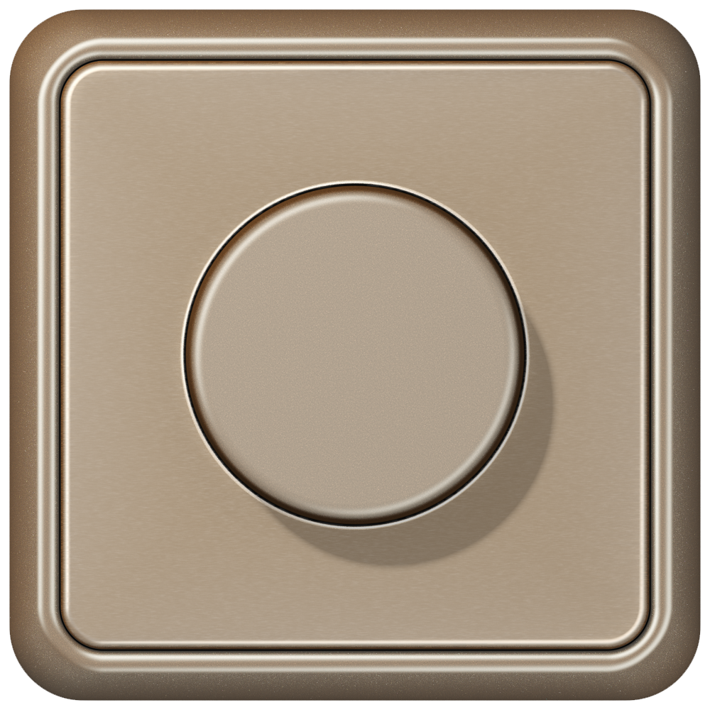 JUNG_CD500_gold-bronze_dimmer