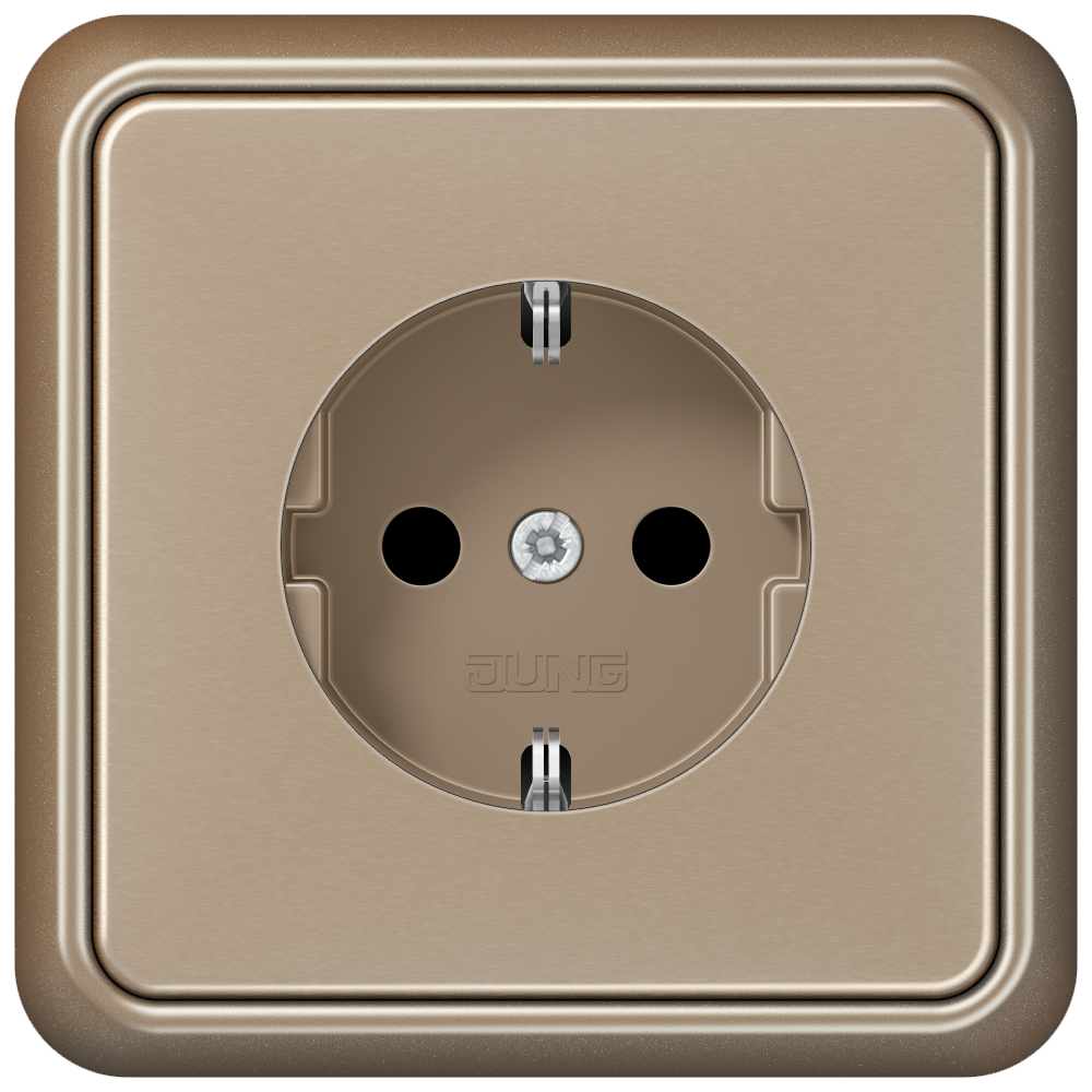JUNG_CD500_gold-bronze_socket