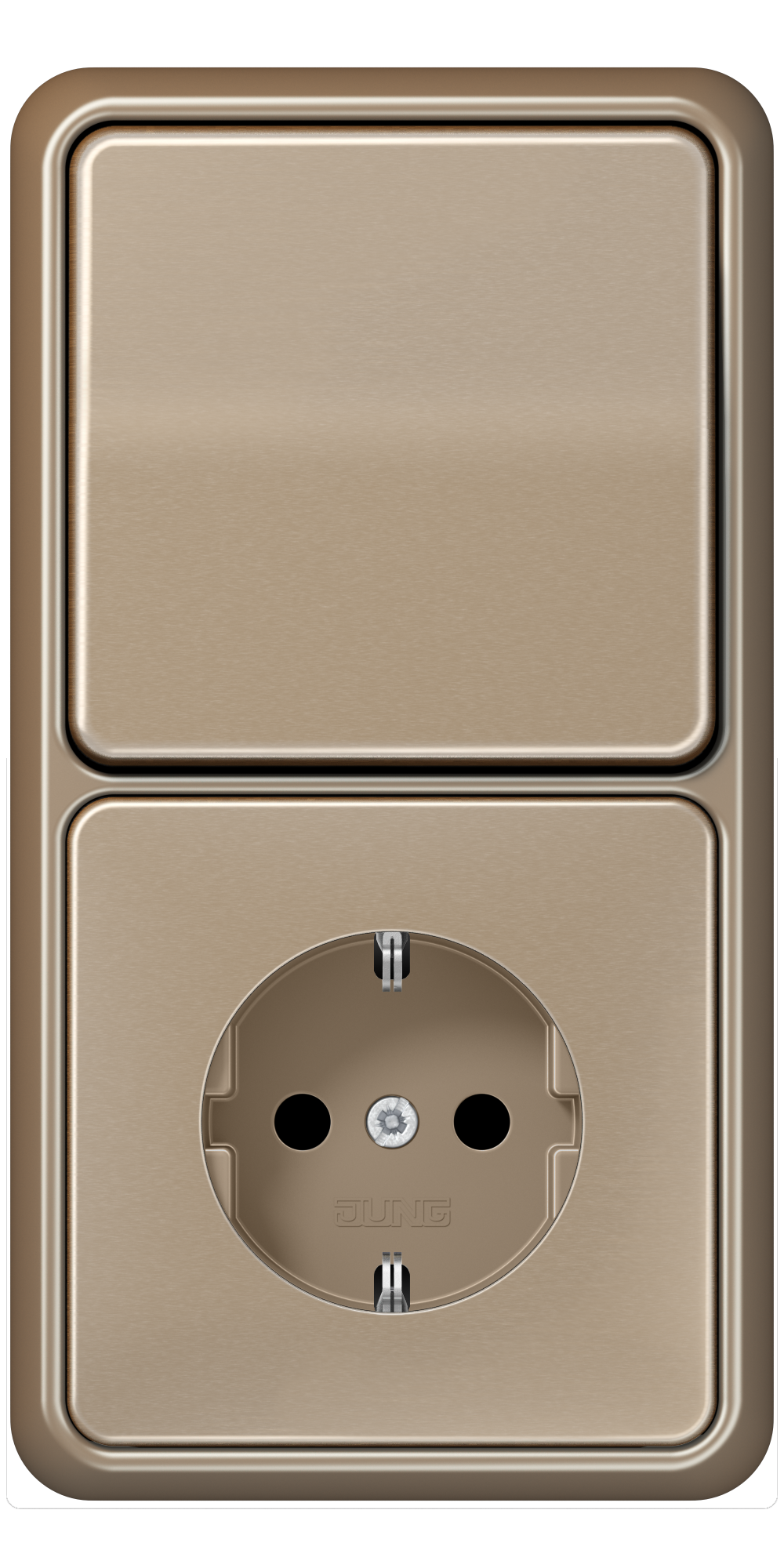 JUNG_CD500_gold-bronze_switch-socket