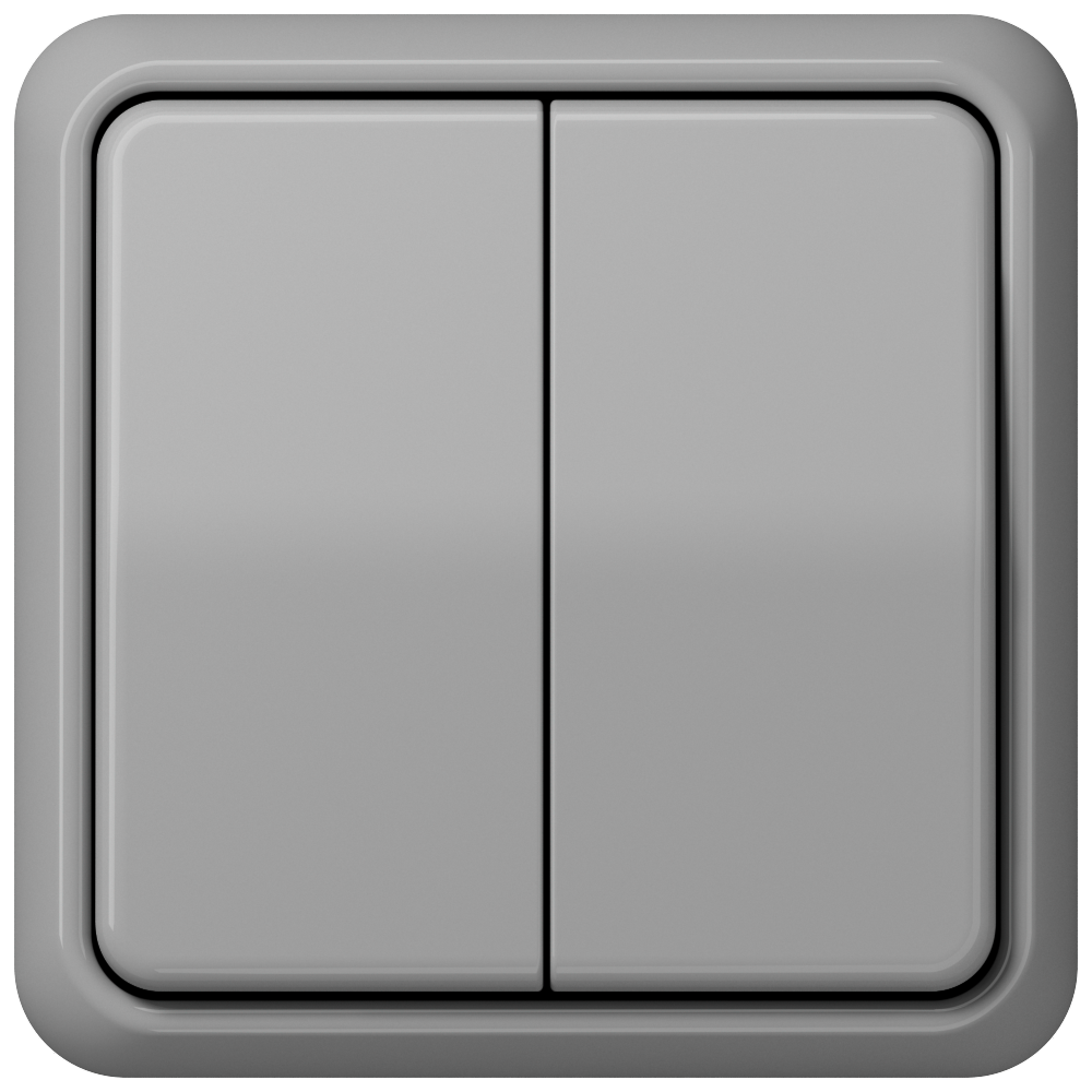 JUNG_CD500_grey_2-gang-switch